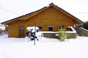 Ferienhaus Nordstern Winter